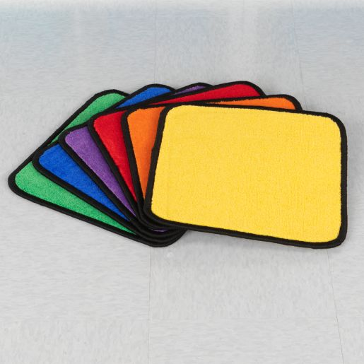 Flexible Seating Squares, 6 Colors