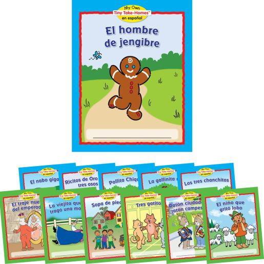 My Own Tiny Take-Homes™: En Espanol: Cuentos Populares (Folktales) - Sets 1 and 2