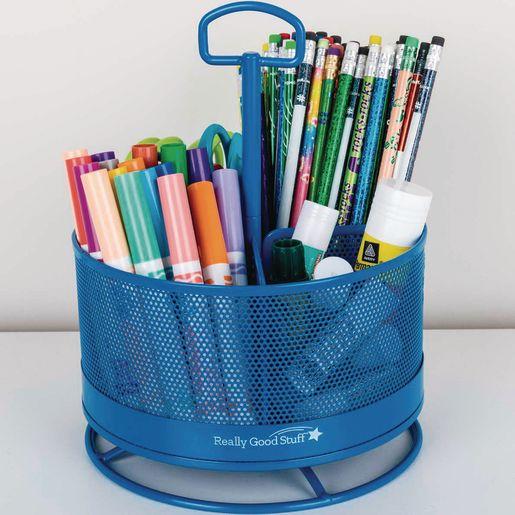 Revolving Supply Organizer - Blue
