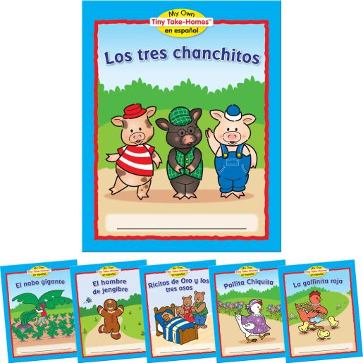 My Own Tiny Take-Homes™ En Espanol: Cuentos Populares (Folk tales)