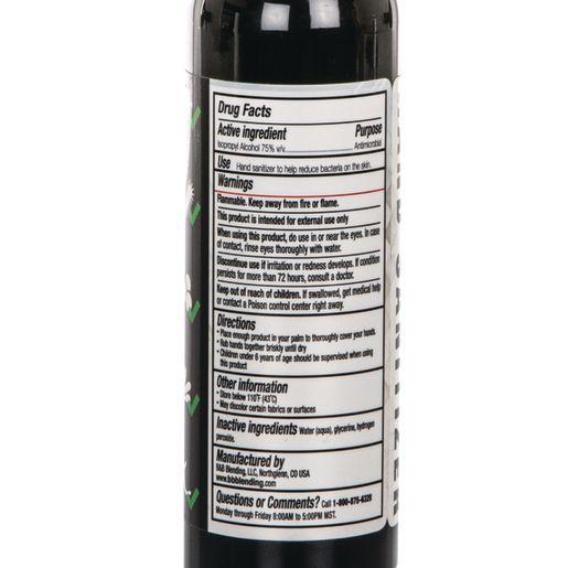 Hand Sanitizer in Misting Spray Bottle 8oz 3-Pack