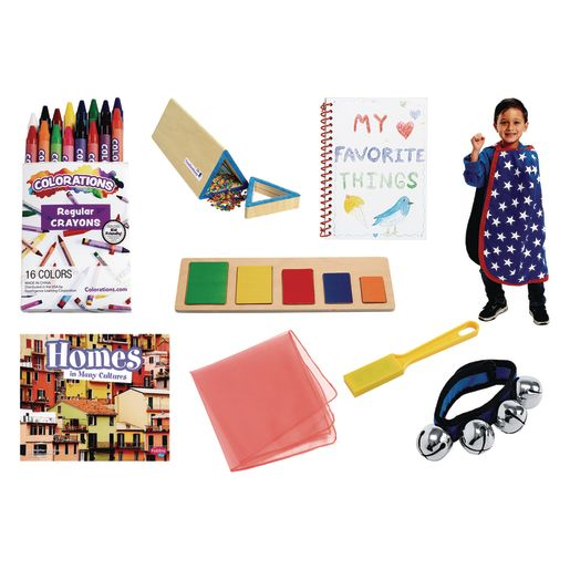 Excellerations® Preschool At-Home Learning Kit - Hero