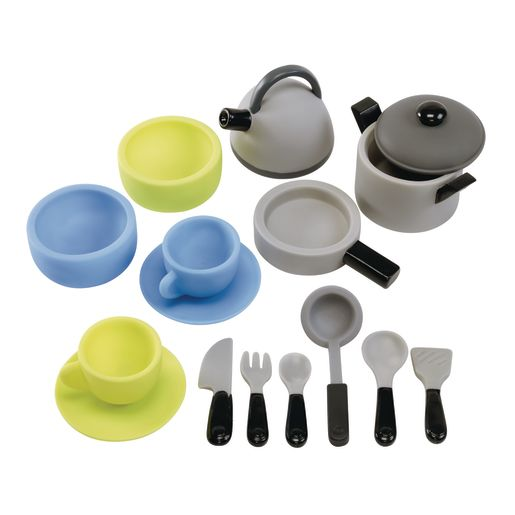 Environments® My First Soft Dishes Set - 18 Pieces with Storage Bag