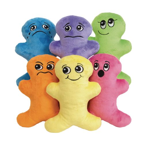 Environments® Plush Emotions Dolls Set of 6