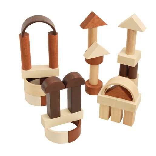 Excellerations® Unit Blocks Tower and Arch Set - 34 Pieces