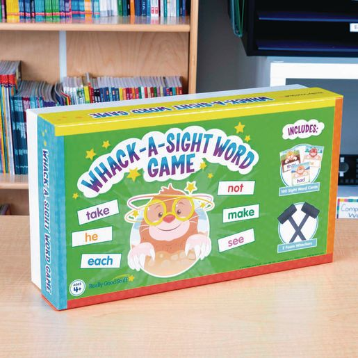 Whack-a-Sight Word Game