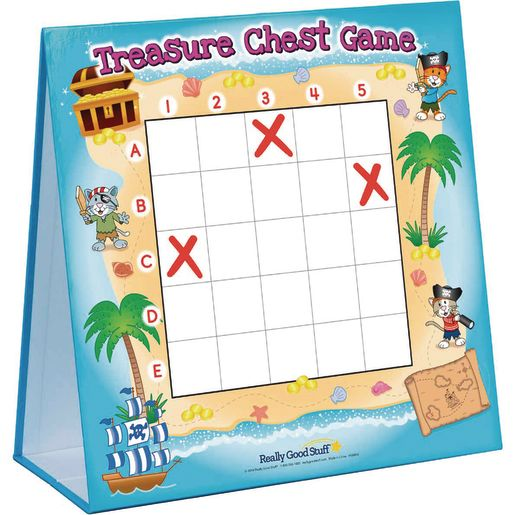 Treasure Chest Addition and Subtraction Game