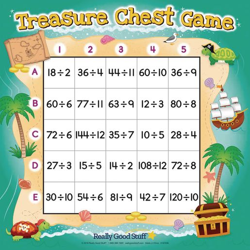 Treasure Chest Division Game