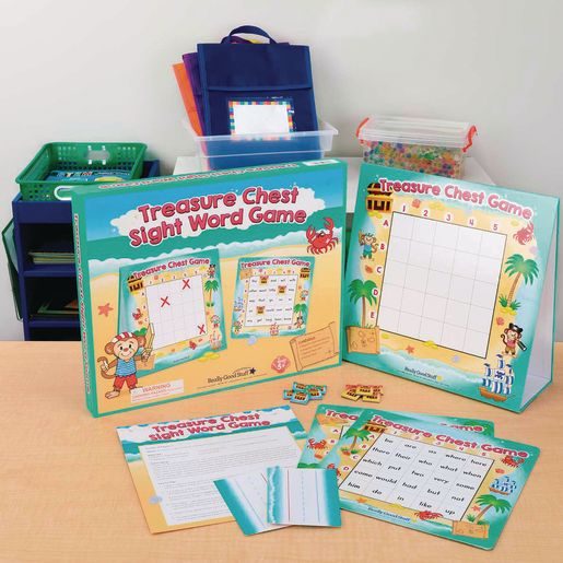 Treasure Chest Sight Word Game