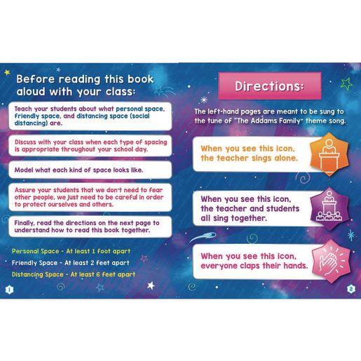 Spaceman Teaches Distancing Read Aloud Book