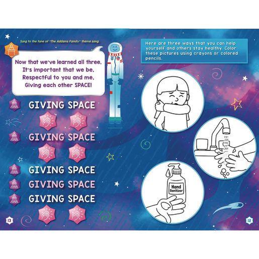 Spaceman Teaches Distancing Learning Journals™ - Grades Pre-K - 1