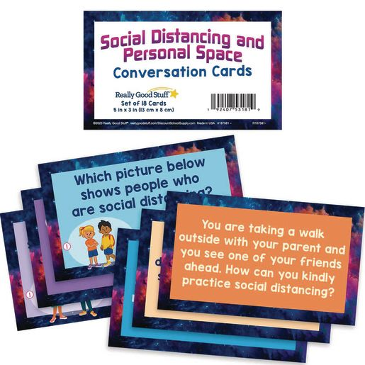 Social Distancing and Personal Space Conversation Cards