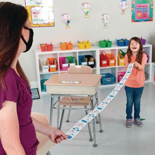 Ready-To-Decorate® Spaceman Teaches Distancing Measurement Tool