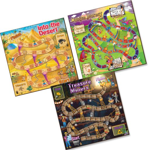 Comprehension Game Trio: Cause and Effect, Fact or Opinion & Context Clues Gr 2-3