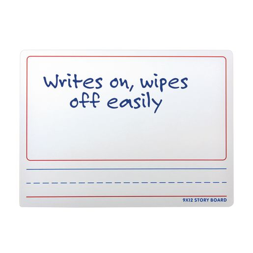 """9"""" x 12"""" Two-Sided Dry Erase Story Board"""