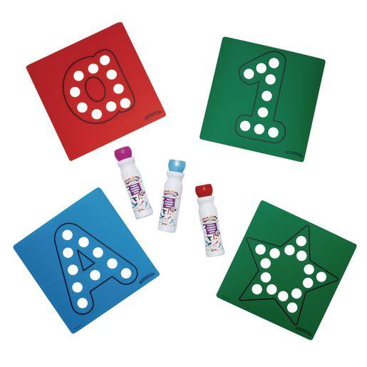 Dabber Dot Stencils & Dabber Marker Kit