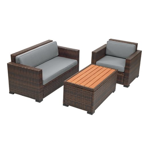 Excellerations® Outdoor Wicker Furniture 5-Piece Set