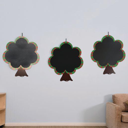 Chalkboard Trees Set of 3