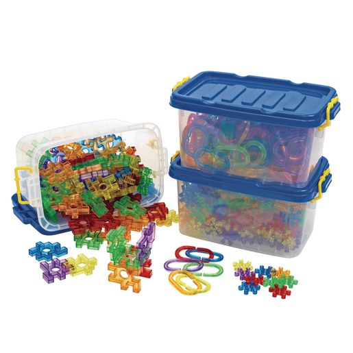 Excellerations® Translucent Shapes Kit - 732 Pieces