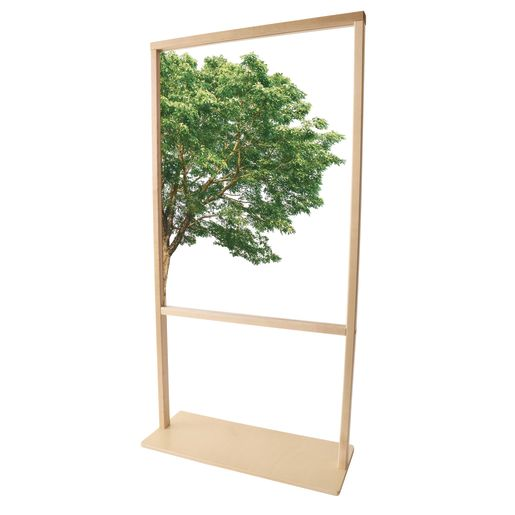 "Nature View Room Divider, 25"" Wide"