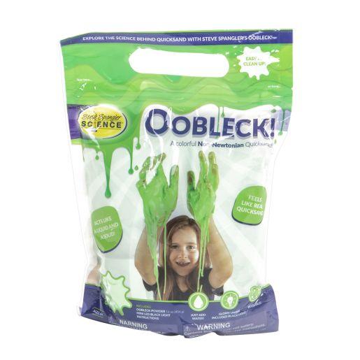 Steve Spangler Oobleck - Green with Black Light_5