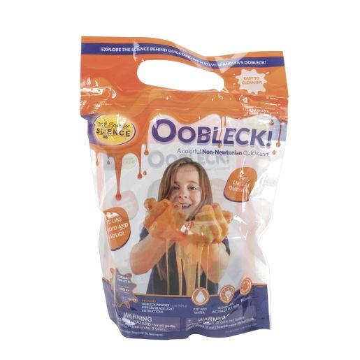 Steve Spangler Oobleck - Orange with Black Light_5