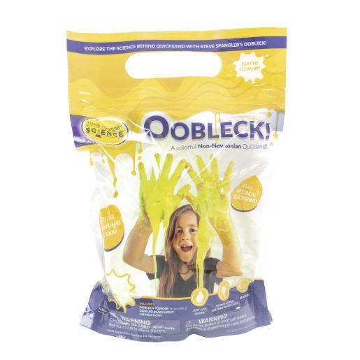 Steve Spangler Oobleck - Yellow with Black Light_5