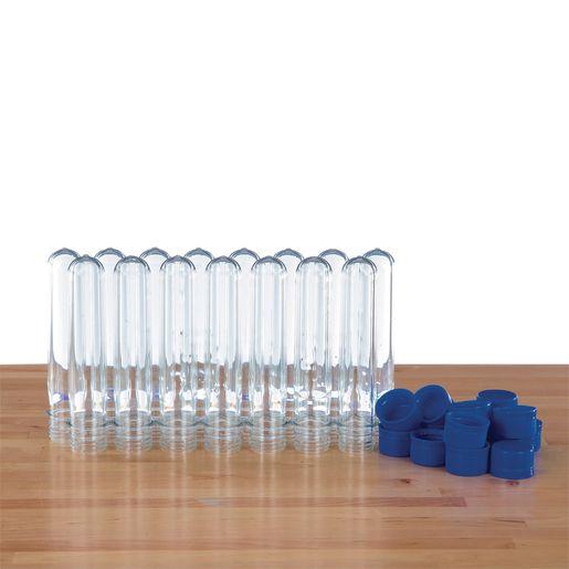 World's Best Plastic Test Tubes - Baby Soda Bottles