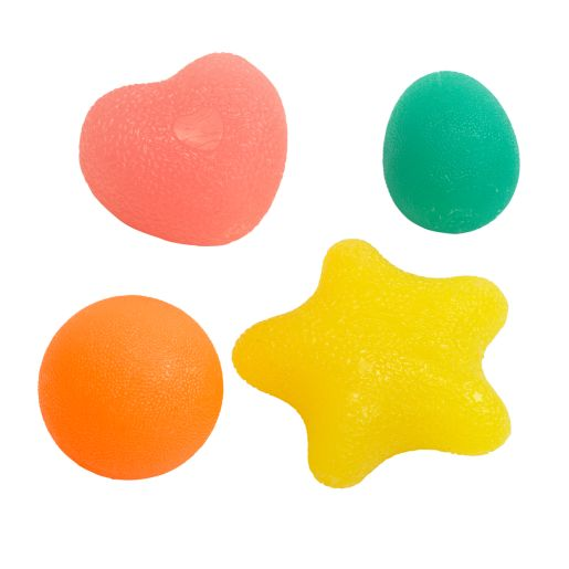 Excellerations® Sensory Stress Balls - Set of 4