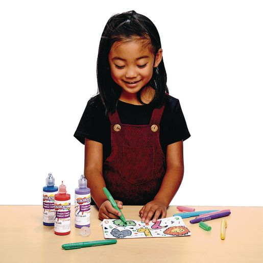 Colorations® Decorate Your Own Pen Bags, 6 BAGS