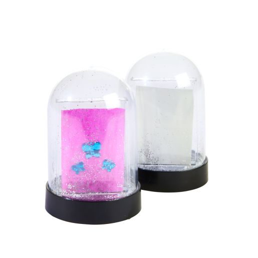 Colorations® Decorate Your Own Snow Domes,  6 Sets, 12 in total