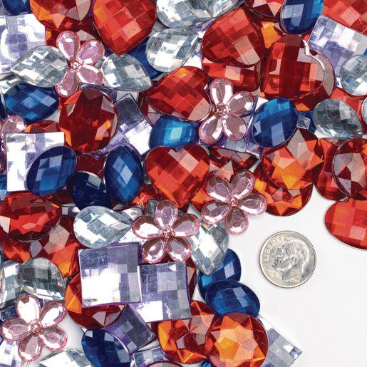 Colorations Rhinestones, 12 Sets of 100