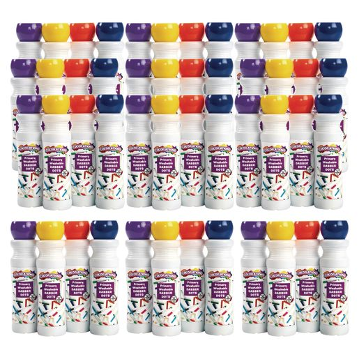 Colorations Dabber Dot Markers EA 4 CLRS, 12 SETS