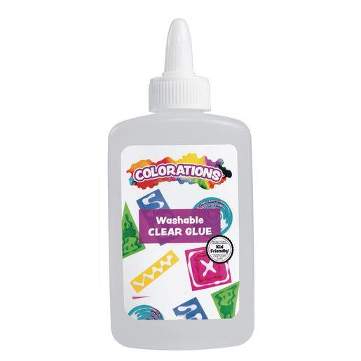 Colorations Clear School Glue, 4 oz. 12 per set, 2 Sets, 24 Total