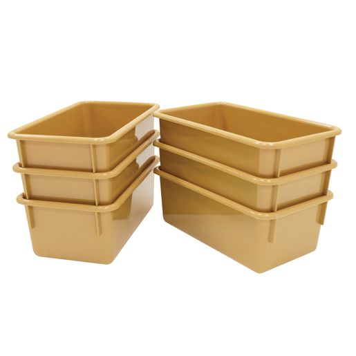 Value Line Cubby Tray - Natural Tan