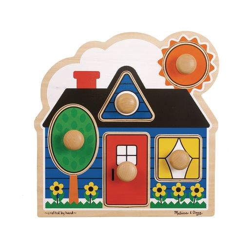Jumbo Knob Puzzles - First Shapes