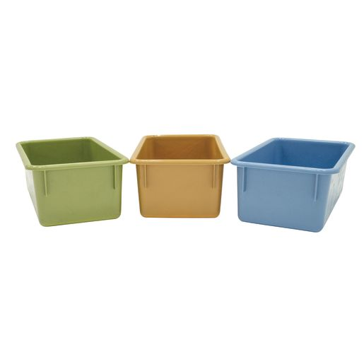 Value Line Cubby Tray, Set of 6 - Tan
