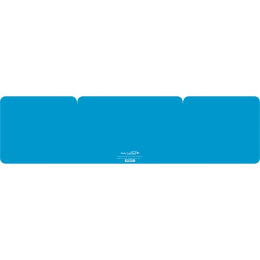 Large Privacy Shields - Set of 12 - Turquoise - Glossy