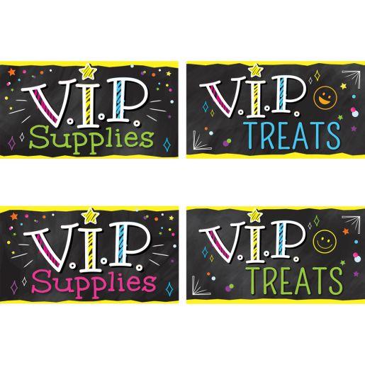 EZ Stick™ V.I.P. Labels - 8 labels