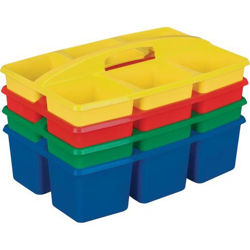 6 - Compartment Caddies - Primary -Set of 4