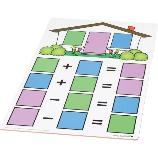 Fact Family Dry Erase Boards - Teacher And Students Kit - Addition And Subtraction - 7 boards