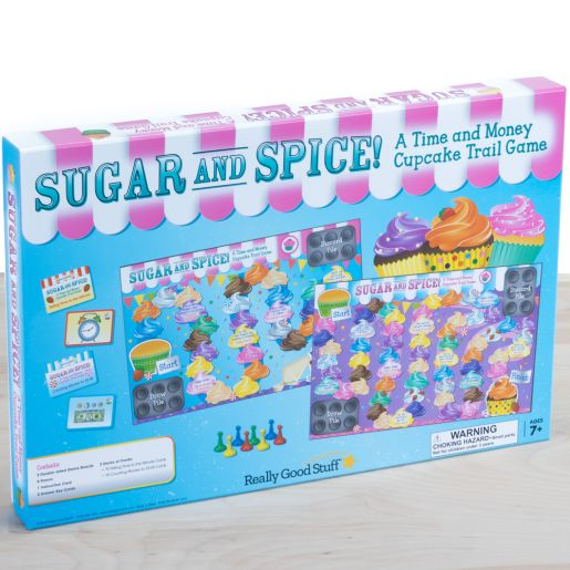 Sugar And Spice! A Time And Money Cupcake Trail Game - 1 game