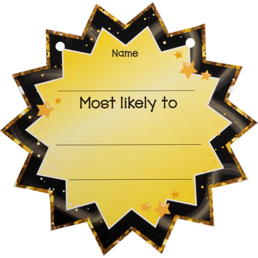 End-Of-Year Superlatives Cards - 24 cards
