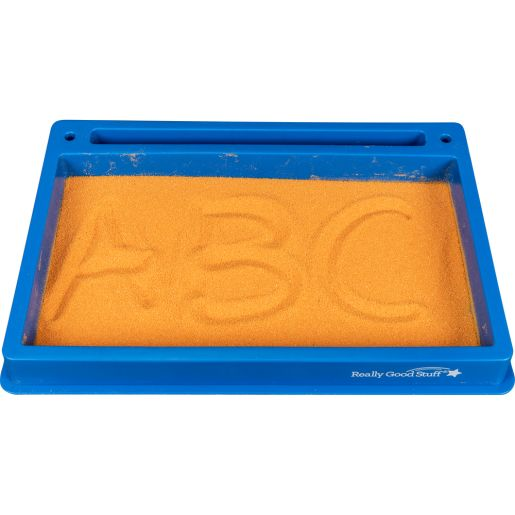Plastic Sand Tray And Sand - 1 tray with sand