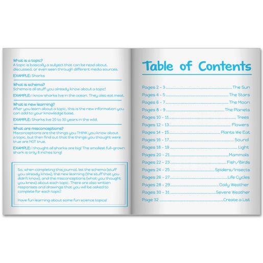 Schema Journals  Science Topics - 12 journals