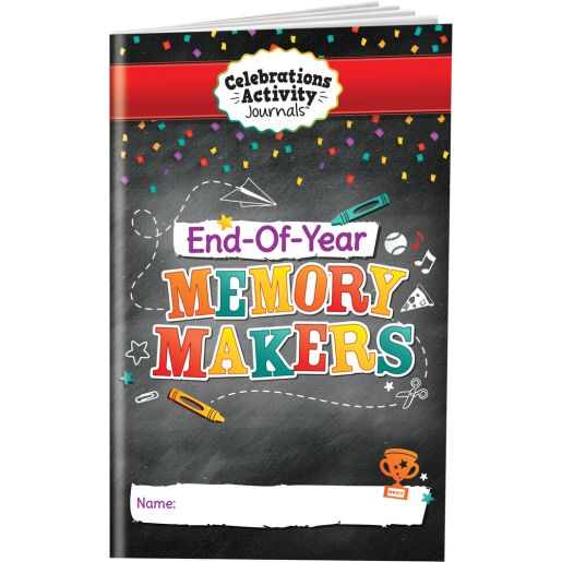 Celebrations Activity Journals™ - End-Of-Year Memory Makers - 24 journals