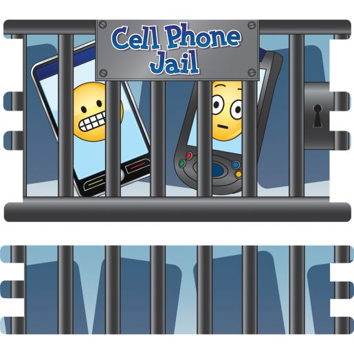 Cell Phone Jail - 1 basket, 4 panels