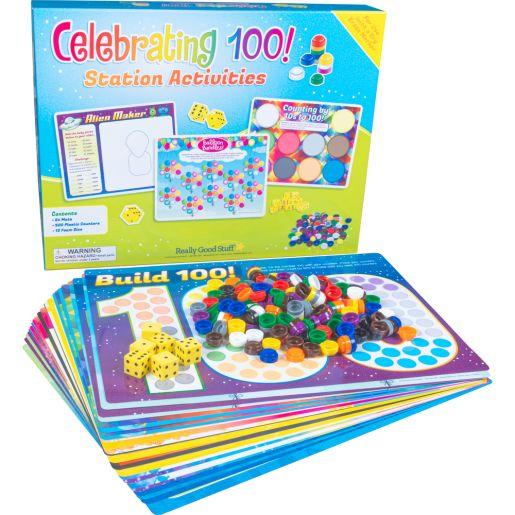 Celebrating 100! Station Activities - multi-item kit