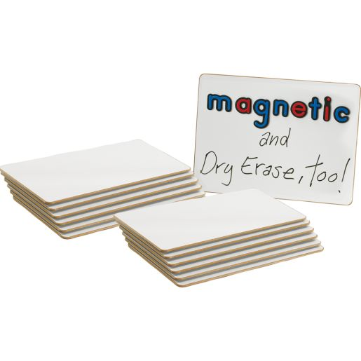 """12"""" X 9"""" Magnetic Dry Erase Boards - Set Of 12"""