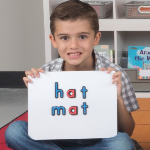 """12"""" X 9"""" Magnetic One-Sided Dry Erase Board Set - 24-Pack"""